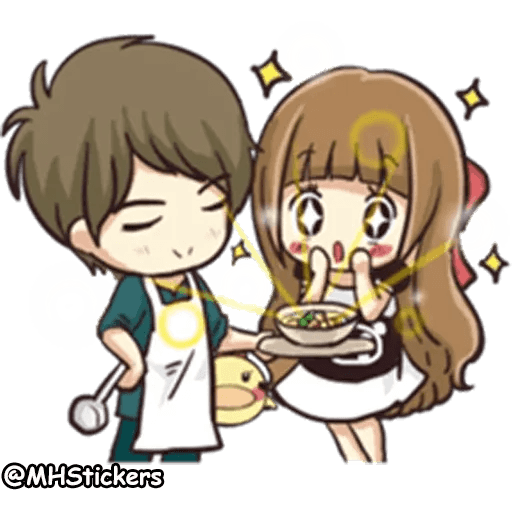 Sweet Couple - Sticker 12