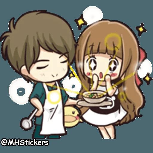 Sweet Couple - Sticker 12