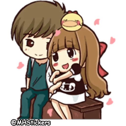 Sweet Couple - Sticker 21