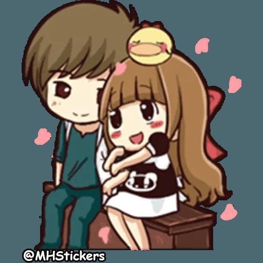 Sweet Couple - Sticker 21