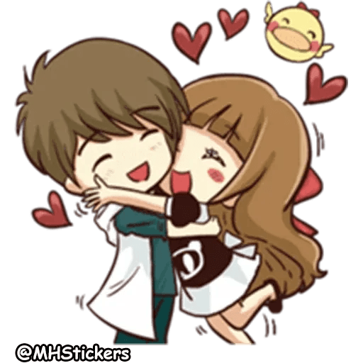 Sweet Couple - Sticker 17