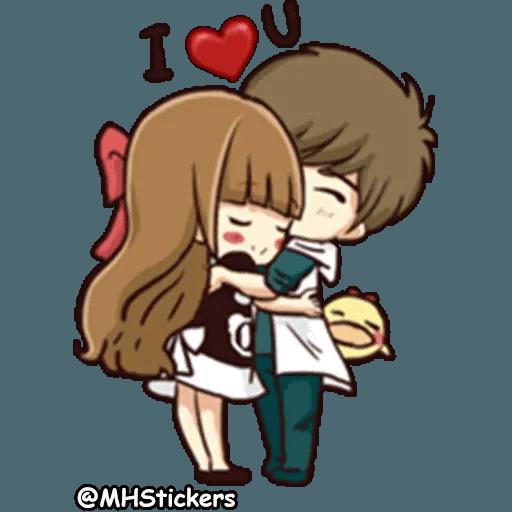 Sweet Couple - Sticker 28
