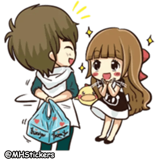 Sweet Couple - Sticker 15