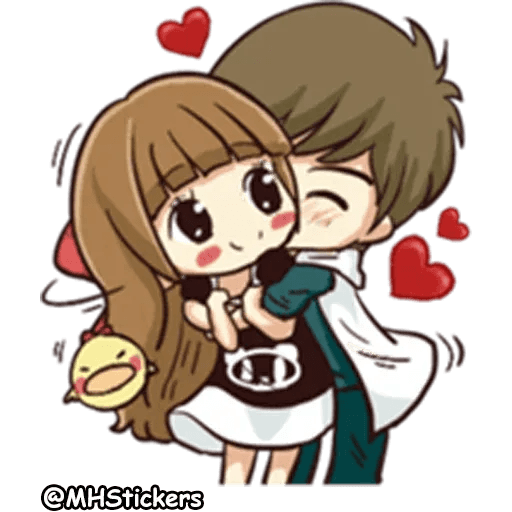 Sweet Couple - Sticker 11