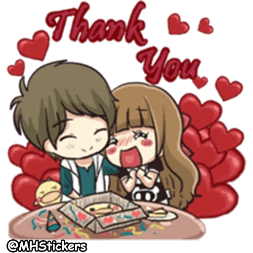 Sweet Couple - Sticker 16