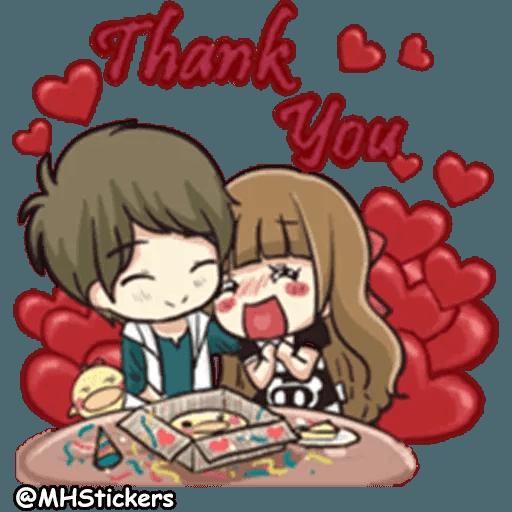 Sweet Couple - Sticker 16