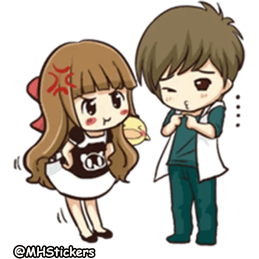 Sweet Couple - Sticker 24