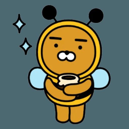 Kakao_friends - Tray Sticker