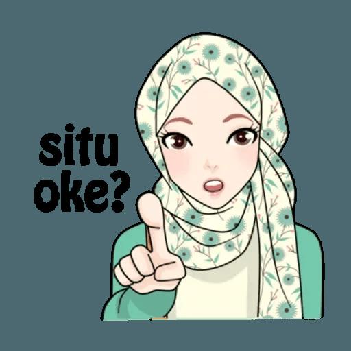 Hijab Gaul @tikelku - Sticker 19