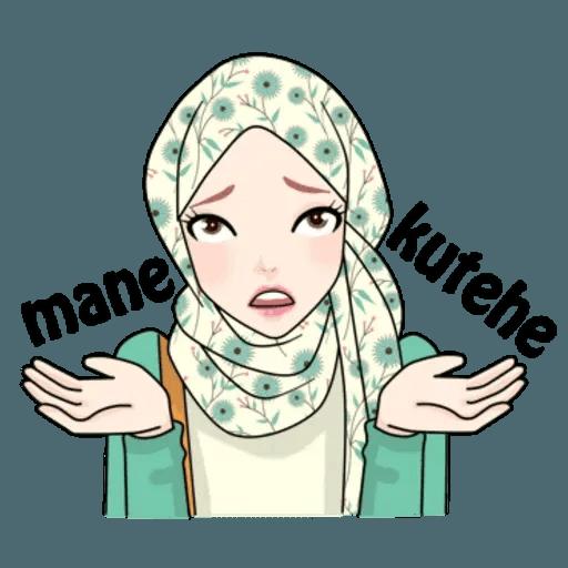 Hijab Gaul @tikelku - Sticker 21