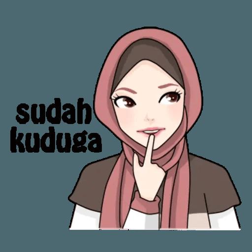 Hijab Gaul @tikelku - Sticker 25