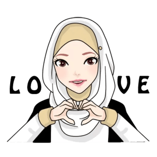 Hijab Gaul @tikelku - Sticker 14