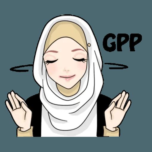 Hijab Gaul @tikelku - Sticker 15