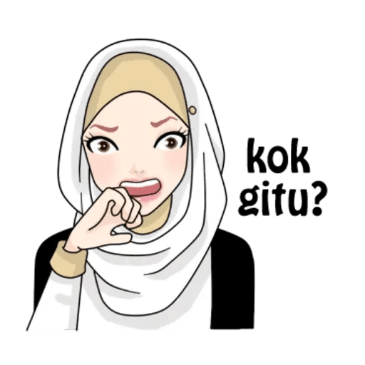 Hijab Gaul @tikelku - Sticker 11