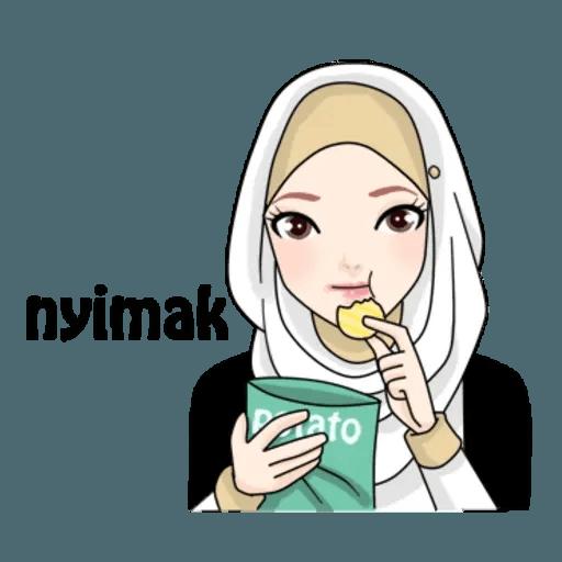 Hijab Gaul @tikelku - Sticker 7