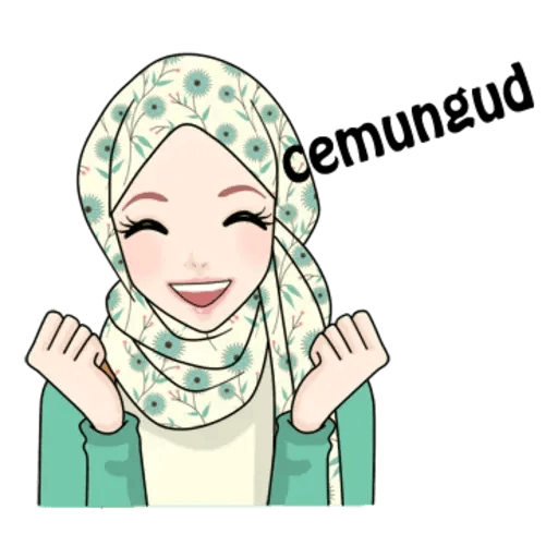 Hijab Gaul @tikelku - Sticker 18