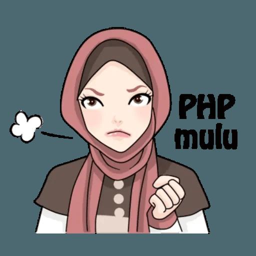 Hijab Gaul @tikelku - Sticker 27