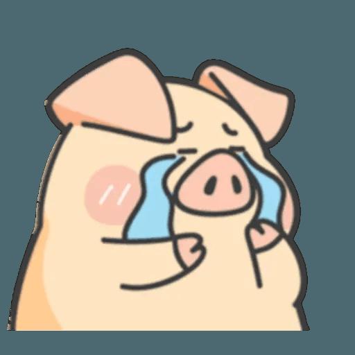 豬與蛙 1 - Sticker 26