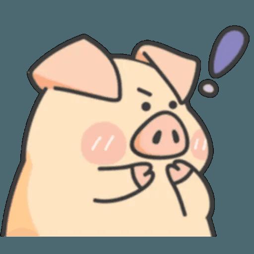 豬與蛙 1 - Sticker 5
