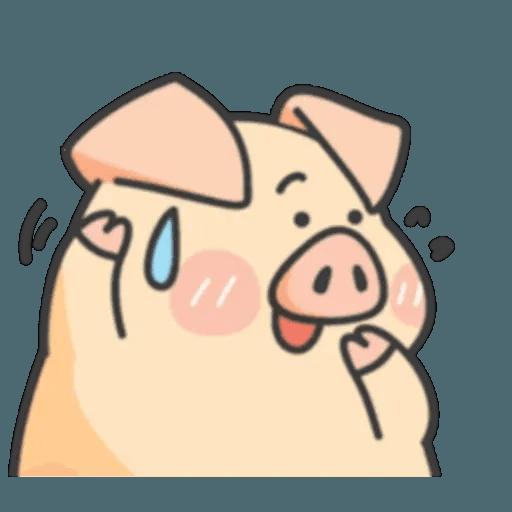 豬與蛙 1 - Sticker 6