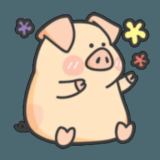 豬與蛙 1 - Sticker 2