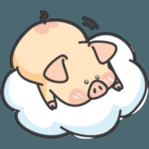 豬與蛙 1 - Sticker 25