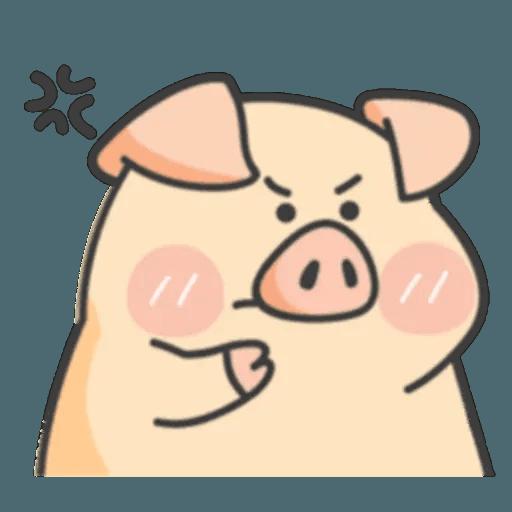 豬與蛙 1 - Sticker 10