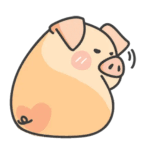 豬與蛙 1 - Sticker 24