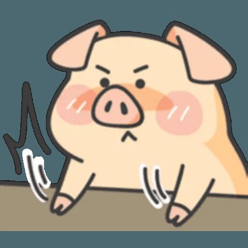 豬與蛙 1 - Sticker 13