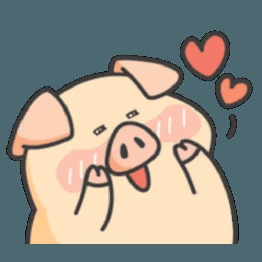 豬與蛙 1 - Sticker 21