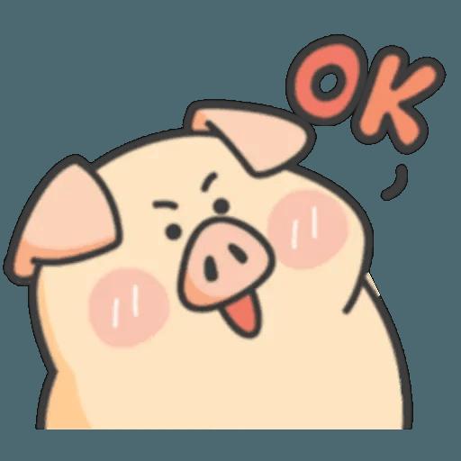豬與蛙 1 - Sticker 11