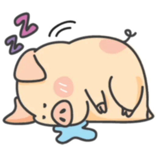 豬與蛙 1 - Sticker 3