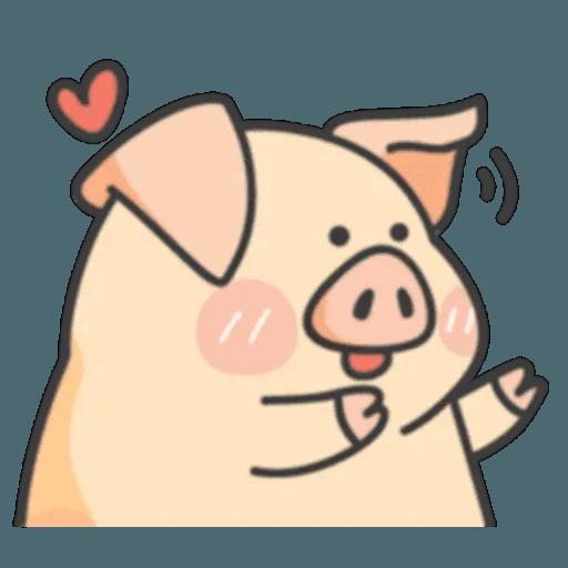 豬與蛙 1 - Sticker 4
