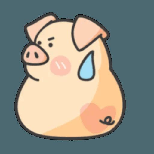 豬與蛙 1 - Sticker 23