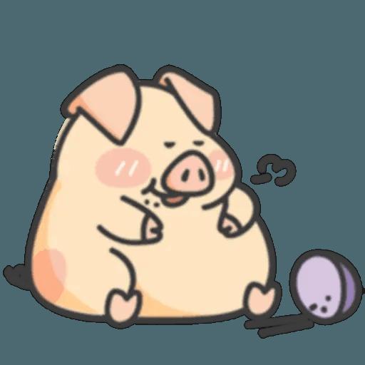 豬與蛙 1 - Sticker 8