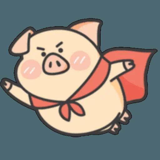 豬與蛙 1 - Sticker 22