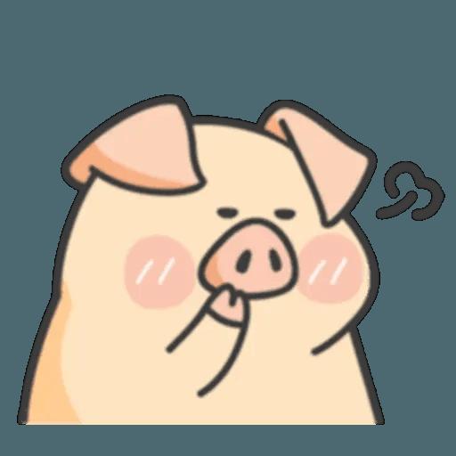 豬與蛙 1 - Sticker 15