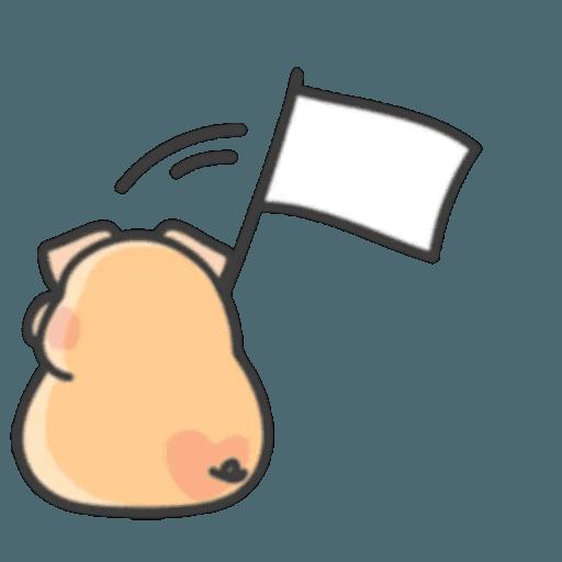 豬與蛙 1 - Sticker 30