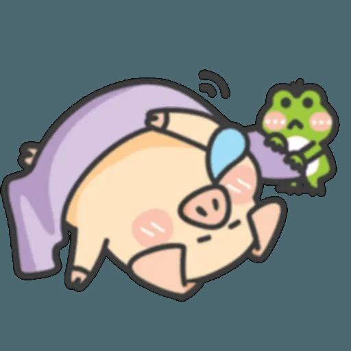 豬與蛙 1 - Sticker 29