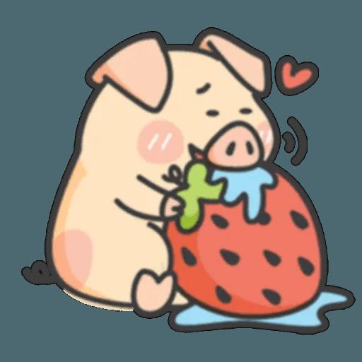 豬與蛙 1 - Sticker 7
