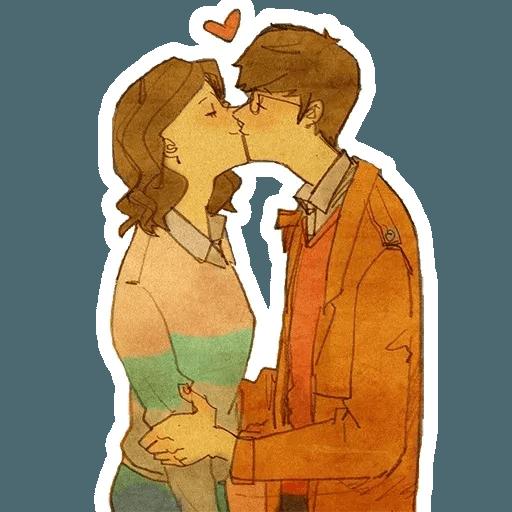 Lovers - Sticker 1
