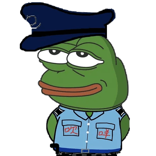 Fighting Pepe - Sticker 25