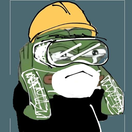 Fighting Pepe - Sticker 27