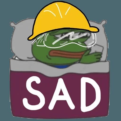 Fighting Pepe - Sticker 16