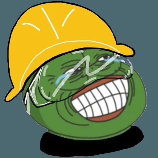 Fighting Pepe - Sticker 12