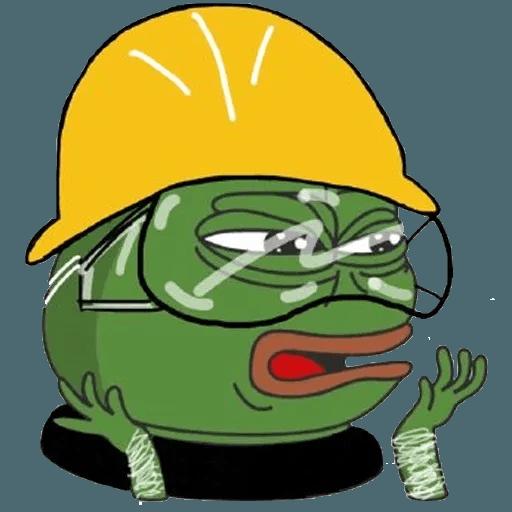 Fighting Pepe - Sticker 3
