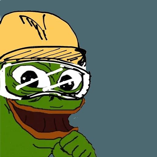 Fighting Pepe - Sticker 30