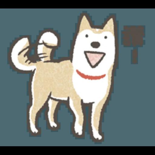 Shiba dog - Sticker 2