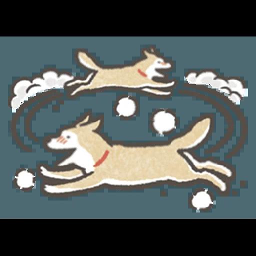 Shiba dog - Sticker 1