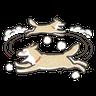 Shiba dog - Tray Sticker